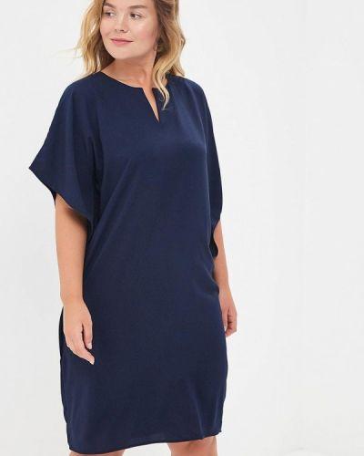 Платье весеннее синее Sparada