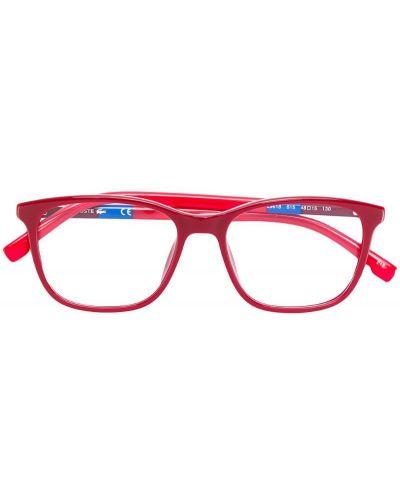 Красные очки Lacoste