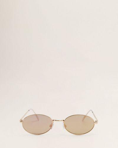 Солнцезащитные очки металлические стеклянные Mango