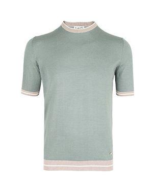 Зеленая футболка Castello D'oro