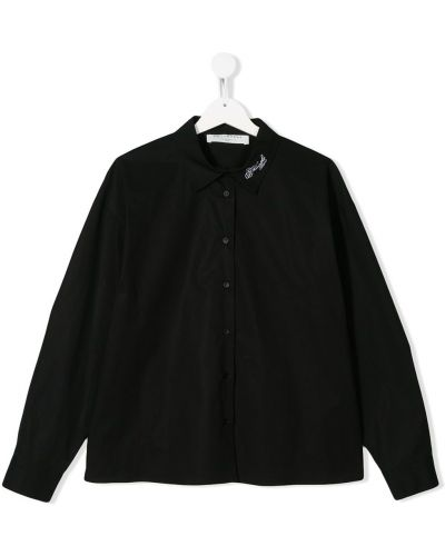 Рубашка с вышивкой с логотипом Philosophy Di Lorenzo Serafini Kids