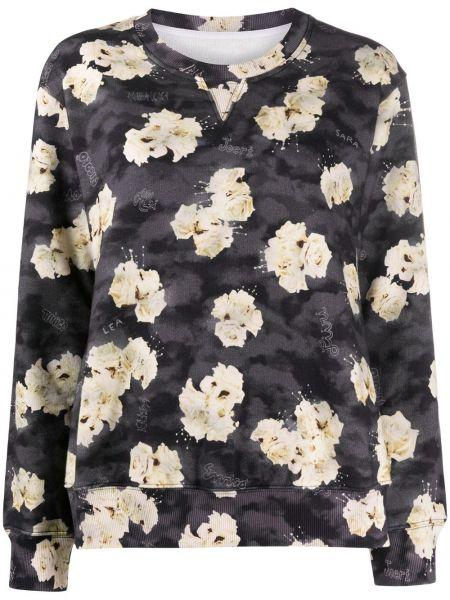 Bluza z kwiatowym nadrukiem Mm6 Maison Margiela