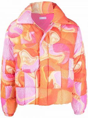 Różowa klasyczna kurtka Erl