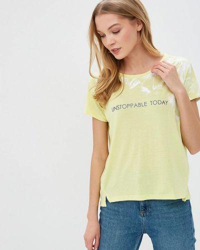 Желтая футболка 2019 Sela