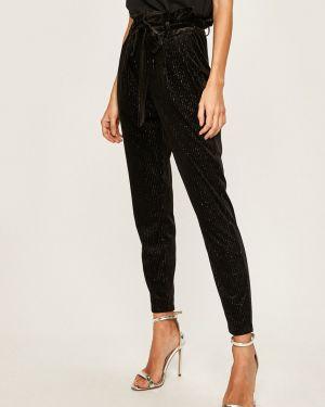 Spodnie z więzami czarne Vero Moda