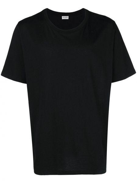 Koszula krótkie z krótkim rękawem klasyczny z nadrukiem Saint Laurent