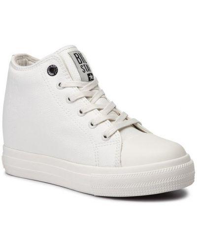 Białe sneakersy Big Star