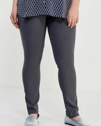 Серые зауженные брюки Junarose