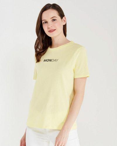 Желтая футболка Only