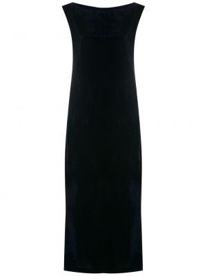 Платье миди трапеция - черное Olympiah