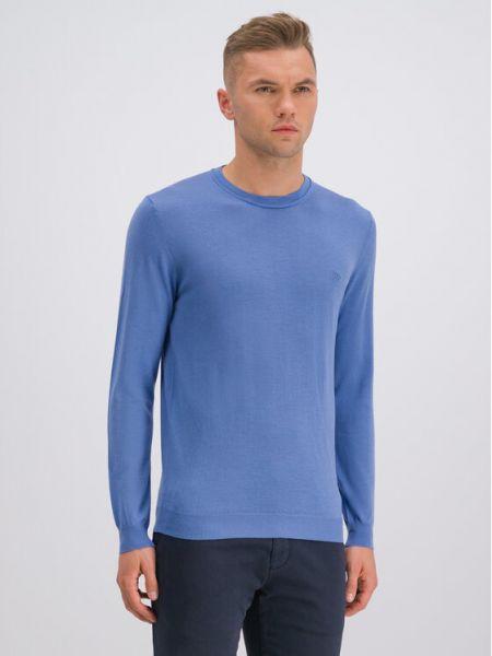 Niebieski sweter Roy Robson