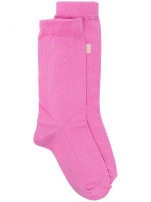 Розовые носки в рубчик Isabel Marant