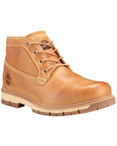 Теплые ботинки - желтые Timberland