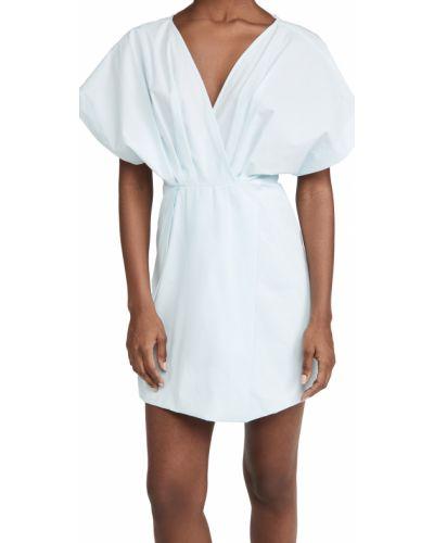 Платье с подкладкой - синее Rachel Comey
