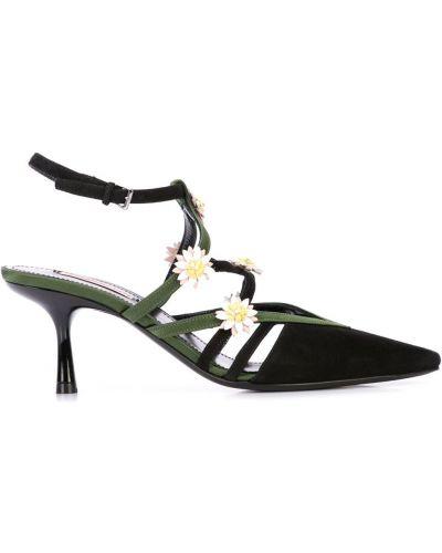Туфли на низком каблуке с пряжкой на каблуке Fabrizio Viti
