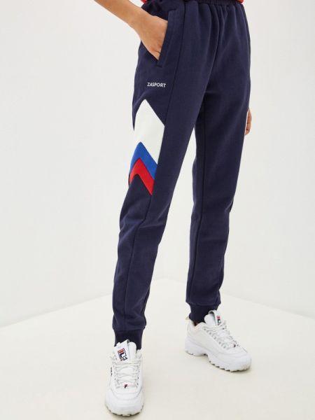 Спортивные брюки синие Zasport