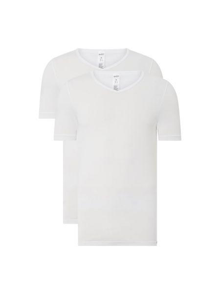 T-shirt bawełniana - biała Skiny