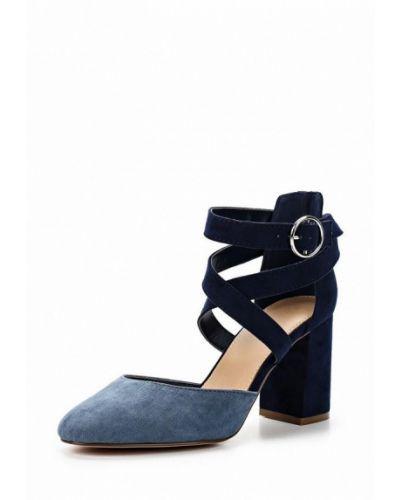 Замшевые туфли с застежкой на лодыжке United Colors Of Benetton