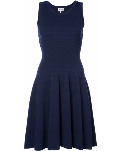 Синее платье из вискозы Milly