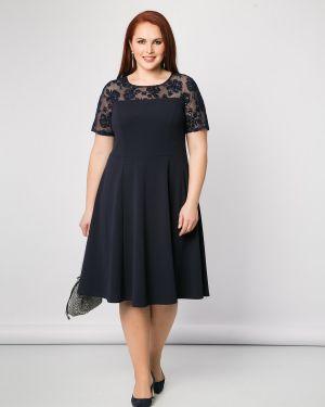 Платье мини платье-сарафан с вырезом Dora