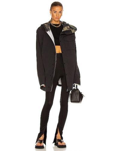 Черная куртка с капюшоном на молнии Y/project