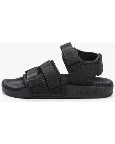 Сандалии черные Adidas Originals
