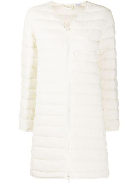 Белая стеганая куртка на молнии Y-3
