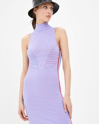Фиолетовое платье Adidas Originals