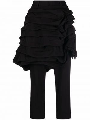 Шерстяные брюки - черные Comme Des Garçons