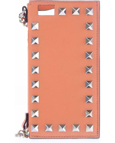Брелок для телефонов кожаный Valentino