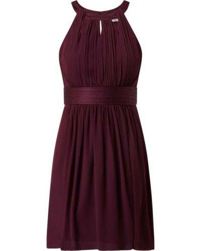 Fioletowa sukienka koktajlowa rozkloszowana z szyfonu Jake*s Cocktail