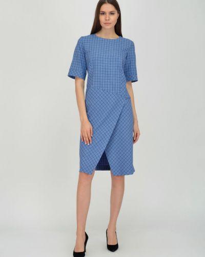 С рукавами приталенное платье с запахом с вырезом Viserdi