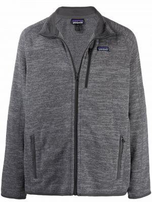 Серая флисовая куртка Patagonia