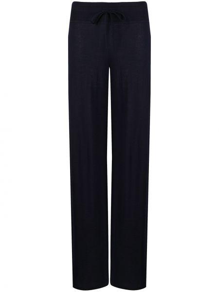 Свободные брюки с поясом эластичные Malo
