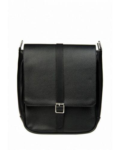 Черная кожаная сумка Arber