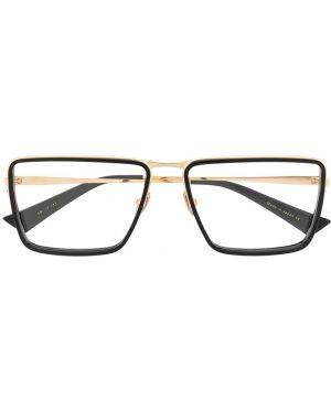 Черные классические очки квадратные металлические Christian Roth