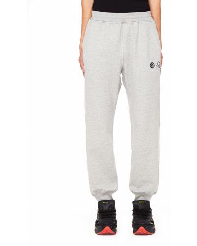Спортивные брюки широкие с карманами гоша рубчинский