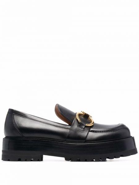 Loafers - czarne Roberto Festa