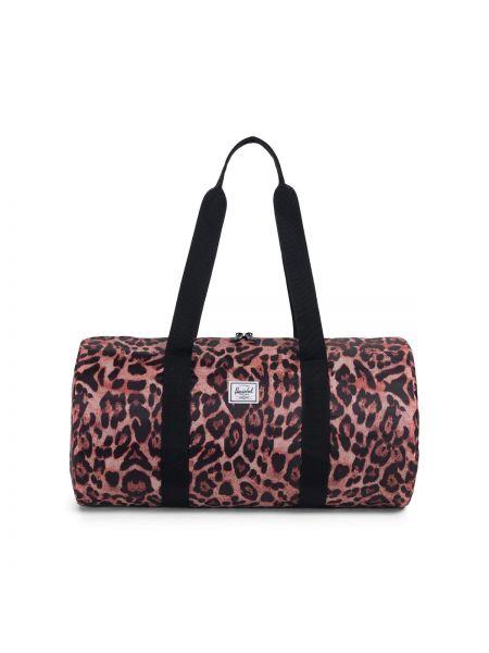 Дорожная сумка с леопардовым принтом с ручками Herschel