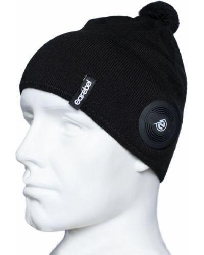 Czapka beanie - czarna Earebel