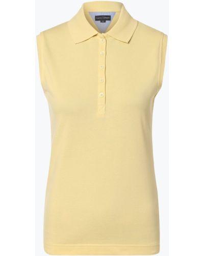 T-shirt - żółta Franco Callegari