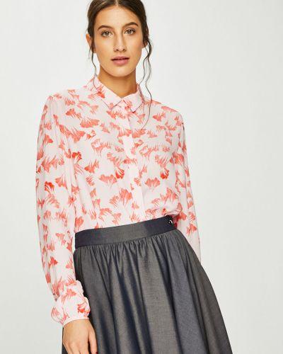 Блузка с длинным рукавом прямая классическая Vila