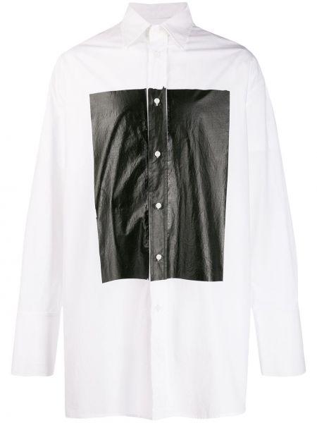 Czarna klasyczna koszula bawełniana z długimi rękawami Bmuet(te)