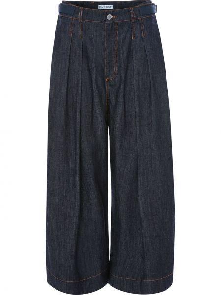 Широкие джинсы с поясом на пуговицах Jw Anderson