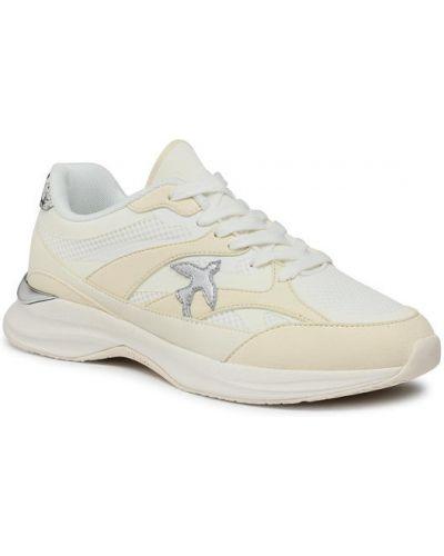Białe sneakersy Pinko