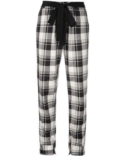 Черные брюки с воротником с манжетами узкого кроя Dresshirt