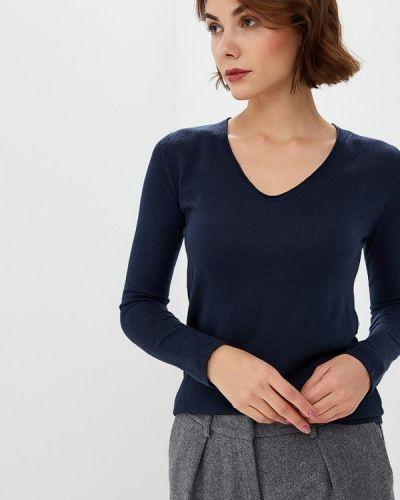 Синий пуловер Tom Tailor