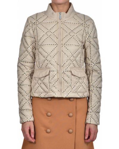 Куртка из полиамида - бежевая Pinko