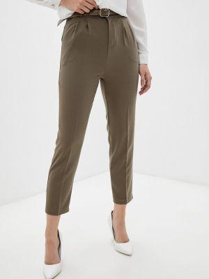 Коричневые брюки летние Indiano Natural