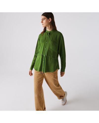 Блузка из вискозы Lacoste